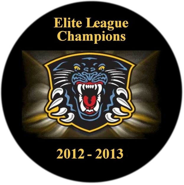 Nottingham Panthers Elite League Champions 2012 - 2013. It had to happen sometime, the momentum has been building over the last few years - first the Challenge Cup (3 years running), then the Playoff Championships (2 years running) and now Elite League Champions. It really doesn't get any better than this.