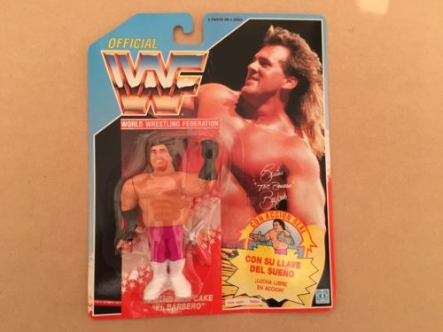 Wwf brutus the #barber #beefcake wrestling figure classic #series on card,  View more on the LINK: http://www.zeppy.io/product/gb/2/252601465785/
