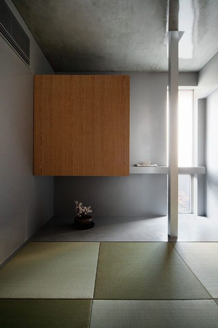Another beautiful tatami room by Japanese architect Kouichi Kimura in the House of Inclusion.