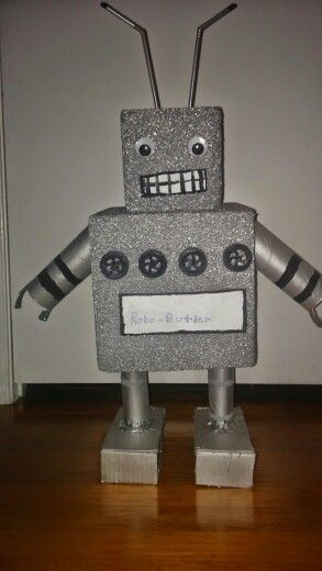 Make your own robot....1 st grade project.