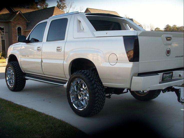 2002 Cadillac Escalade Ext Lifted