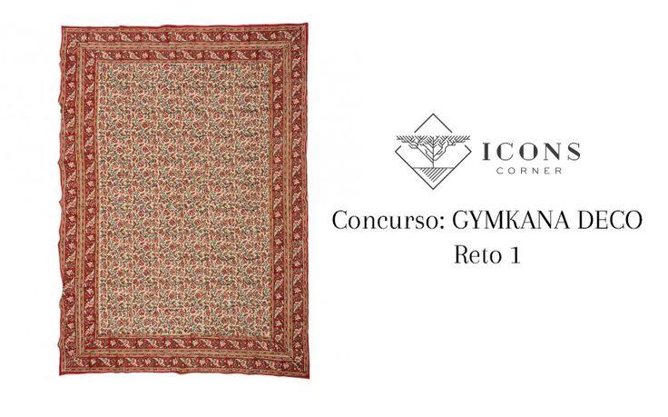 GANA un #plaid étnico con nuestra #Gymkana #Deco RETO 1. Participa en #Facebook #decoración #interiorismo #concurso