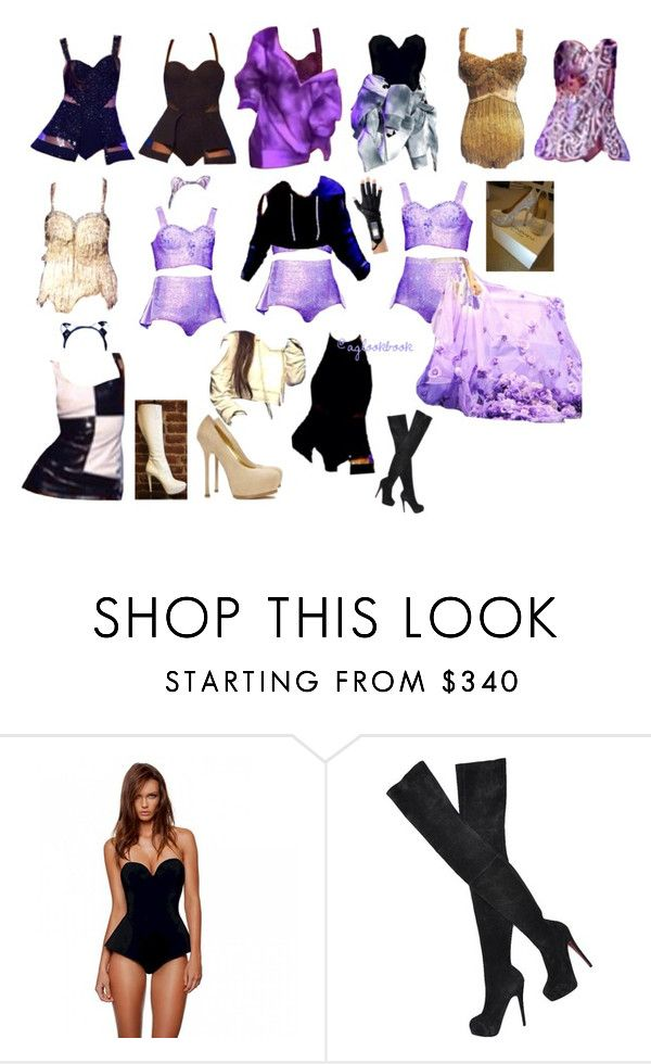 """""""the honeymoon tour"""" by aglookbook ❤ liked on Polyvore featuring Christian Louboutin and Yves Saint Laurent"""