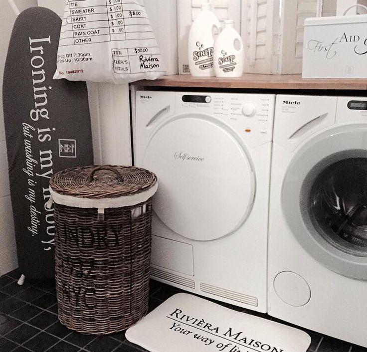 Riviera Maison laundry room