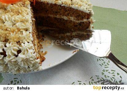 Carrotcake neboli mrkvový dort recept - TopRecepty.cz