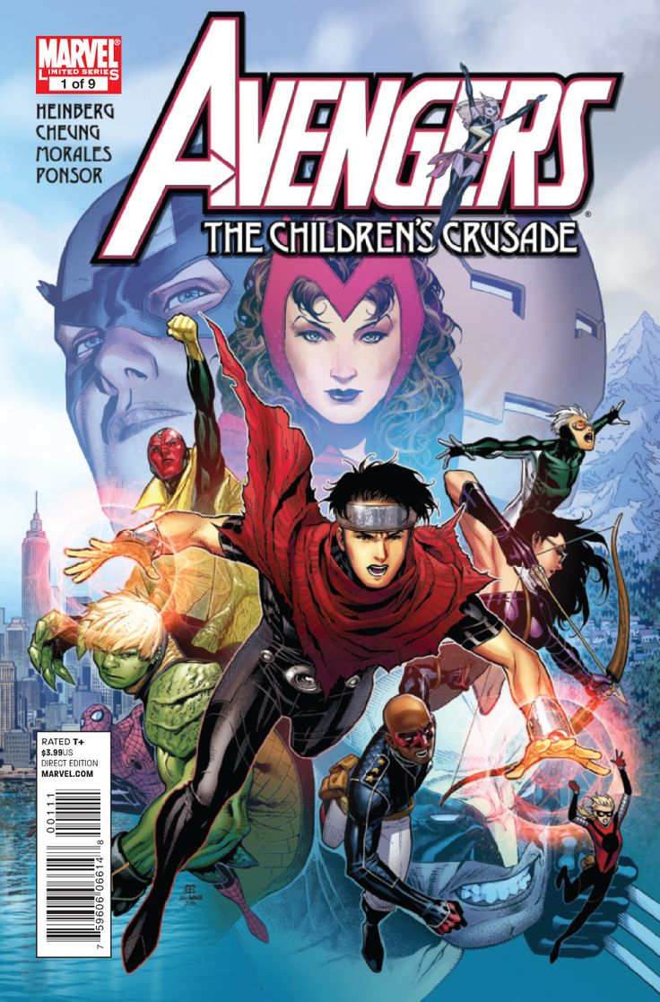 #Avnegers: The Children's Crusade - Wiccan Cover