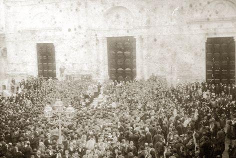 L'inaugurazione della nuova madrice di Favara il 10 ott. 1898