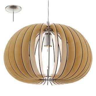 COSSANO 450 PENDANT MAPLE - Modern Pendants - Pendant Lights - Lighting Direct