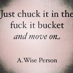 Love this! Move on! Lol