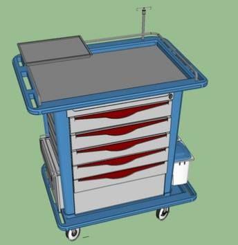Free Surgery Cart by Lhu  https://www.facebook.com/download/938982632794147/carrito-de-cirugialhu.skp