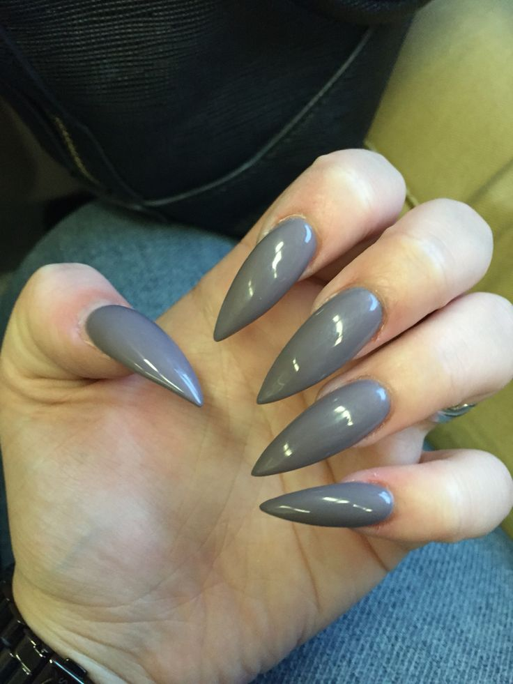 Stiletto Nails Fake Nails Matte Nails Blue Press On Nails: 1000+ Ideas About Long Stiletto Nails On Pinterest