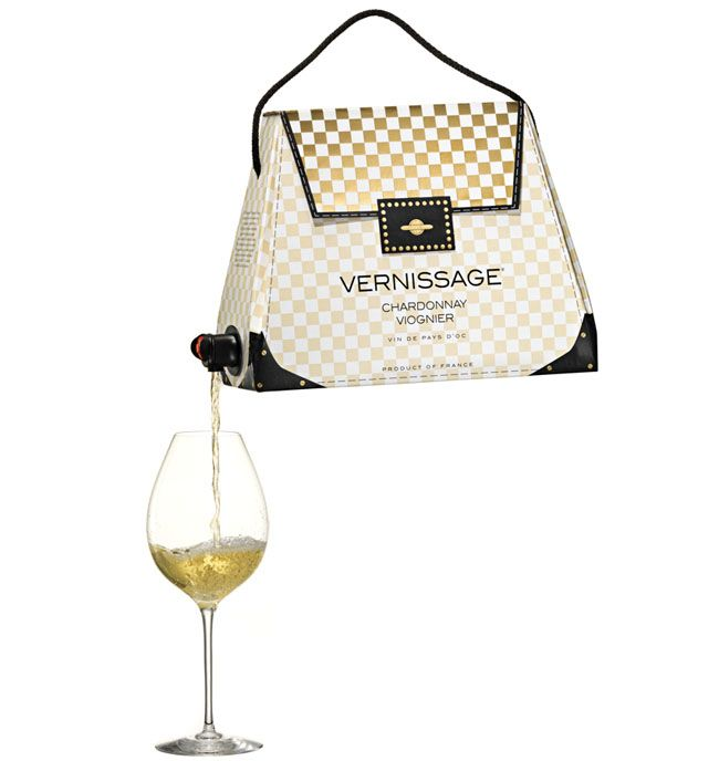 Bag in Bag Wine Vernissage on Packaging of the World - Creative Package Design Gallery