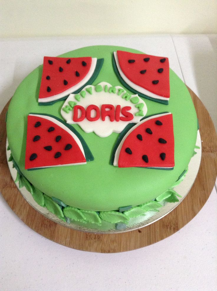 Doris bday cake