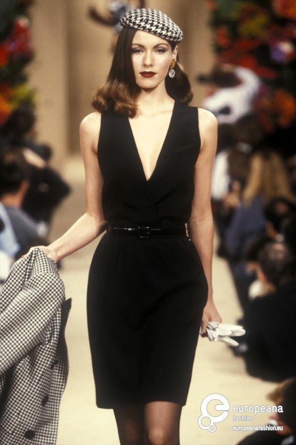 Yves Saint Laurent, Spring-Summer 1995, Couture