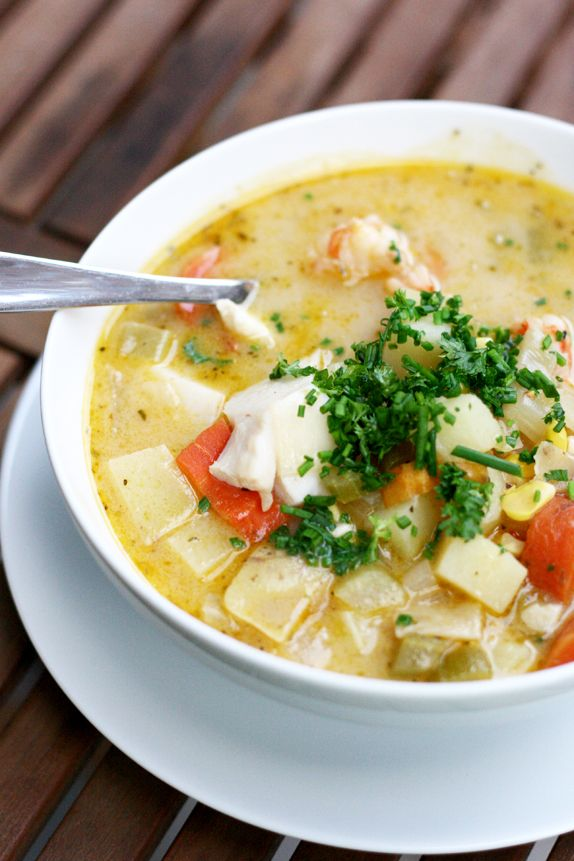 Recipe: The Best Seafood Chowder