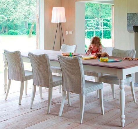 28 besten dining rooms looms bilder auf pinterest rattan webstuhl und esstisch. Black Bedroom Furniture Sets. Home Design Ideas