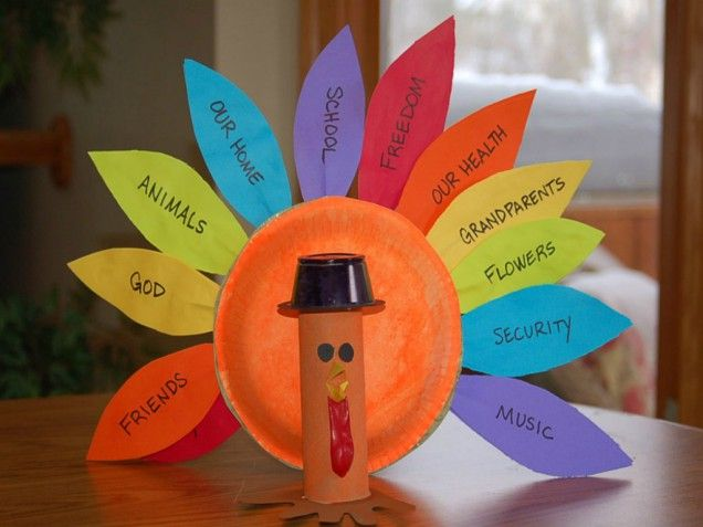 Easy, meaningful Thanksgiving craft