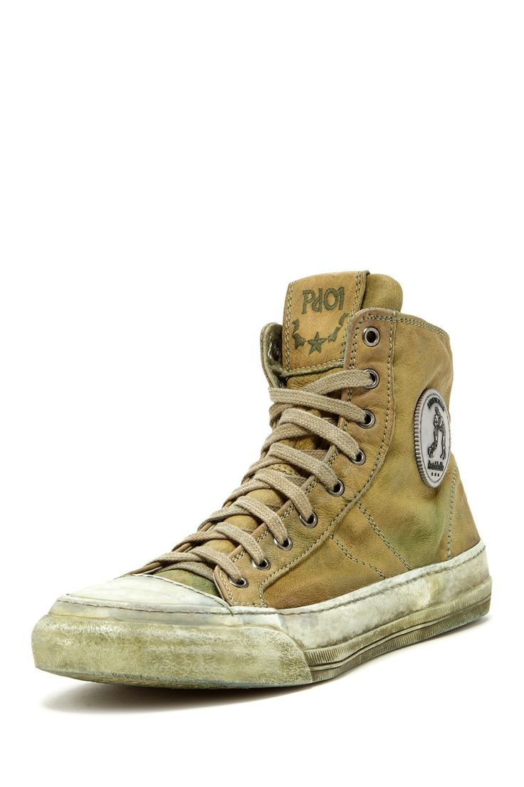 Sneakers By Pantofola d'Oro Italy / Lotta Libera High Bufalo Sneaker
