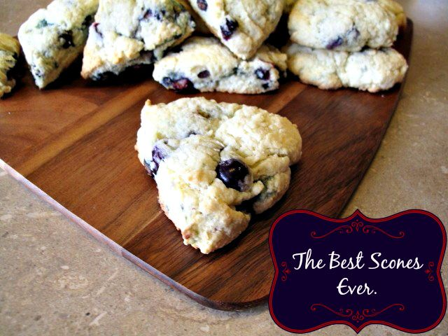 The BEST scones ever, one of my most popular recipes ever!  This base scone recipe uses sour cream and butter to make a luxurious scone that is my go-to, use raisins, blueberries whatever you like to make the most wonderful scones you'll ever try!| The Kitchen Magpie