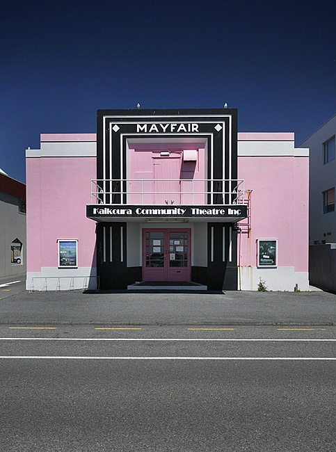 Stills Photo Tours, David Still - New Zealand Tour, Art Deco village theatre