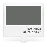 SW 7068 - Grizzle Gray