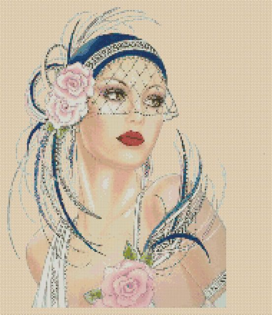 Amazing image is the creation of Flower Power37-UK......Art Deco