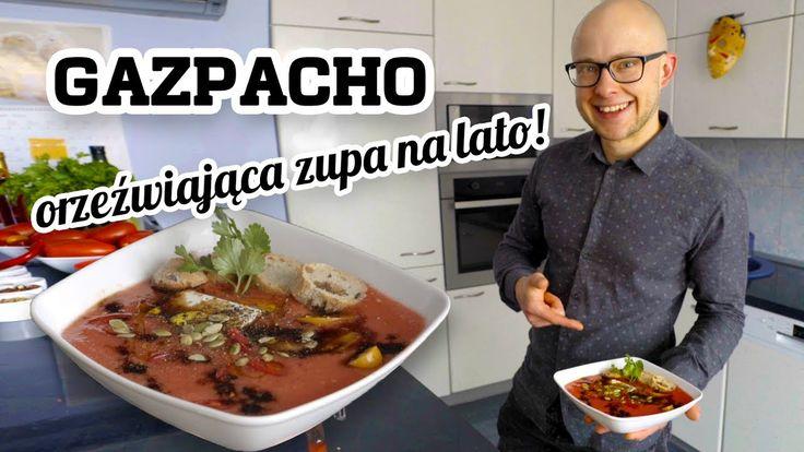 Arbuzowe Gazpacho | Pyszna zupa w 4 minuty | Wege Chłodnik | GastroCoach