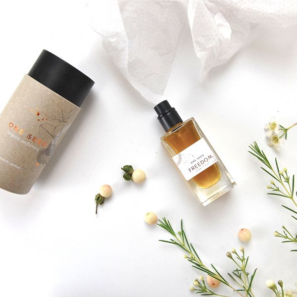 Organic perfume made in South Australia by One Seed http://www.fetchlane.com.au/portfolio/one-seed/