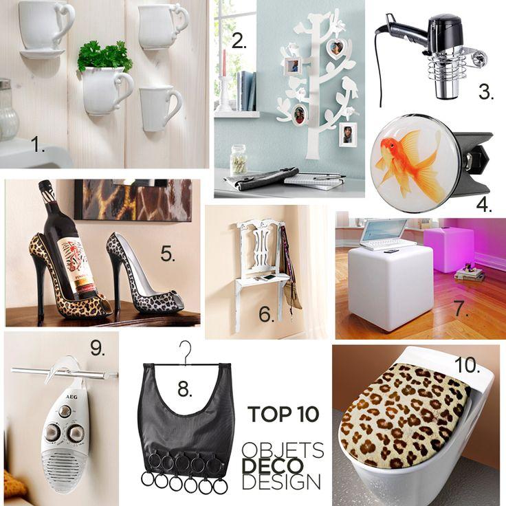 Top 10 objets d co design utiles et originaux nos coups for Objet decoration design contemporain