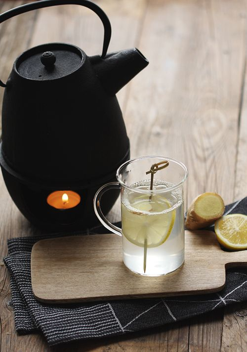 Ingwer-Zitronen-Tee Ginger-Lemon-Tea Nicolas Vahé