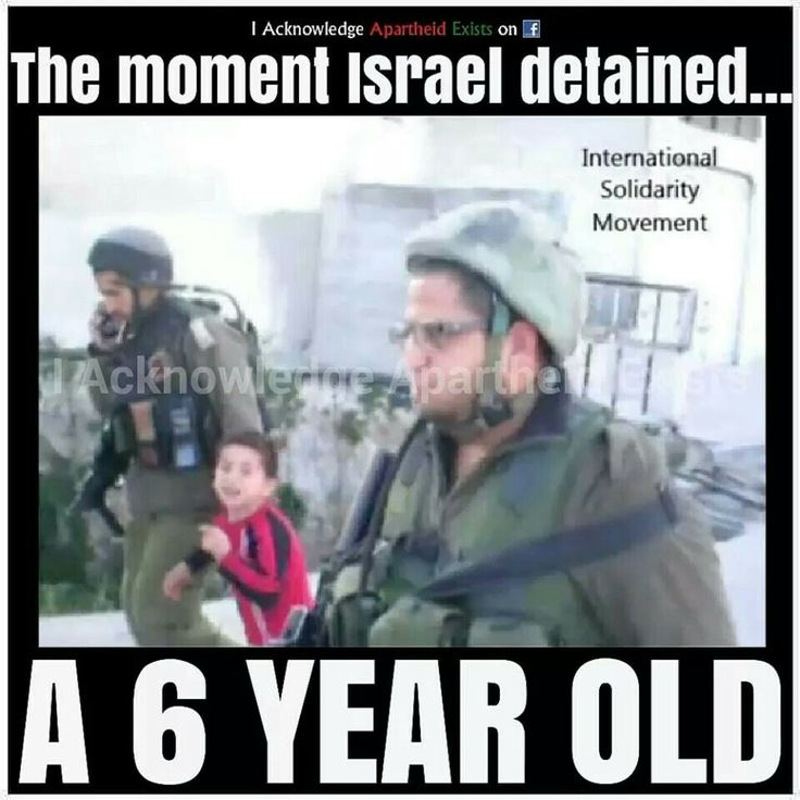 Because children have become an increasing threat to netenyahu and his Zionist movement. Grow up Netenyahu! Pick on people your own size!