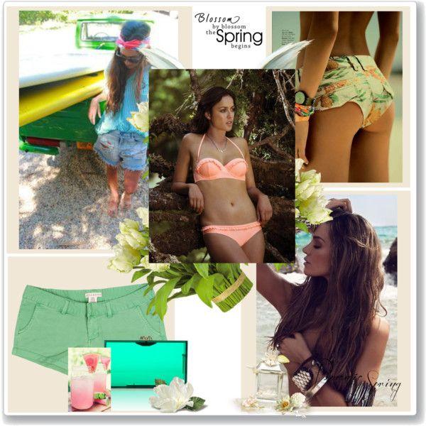 """Bora Bora Bikini"" by freesiabell on Polyvore"