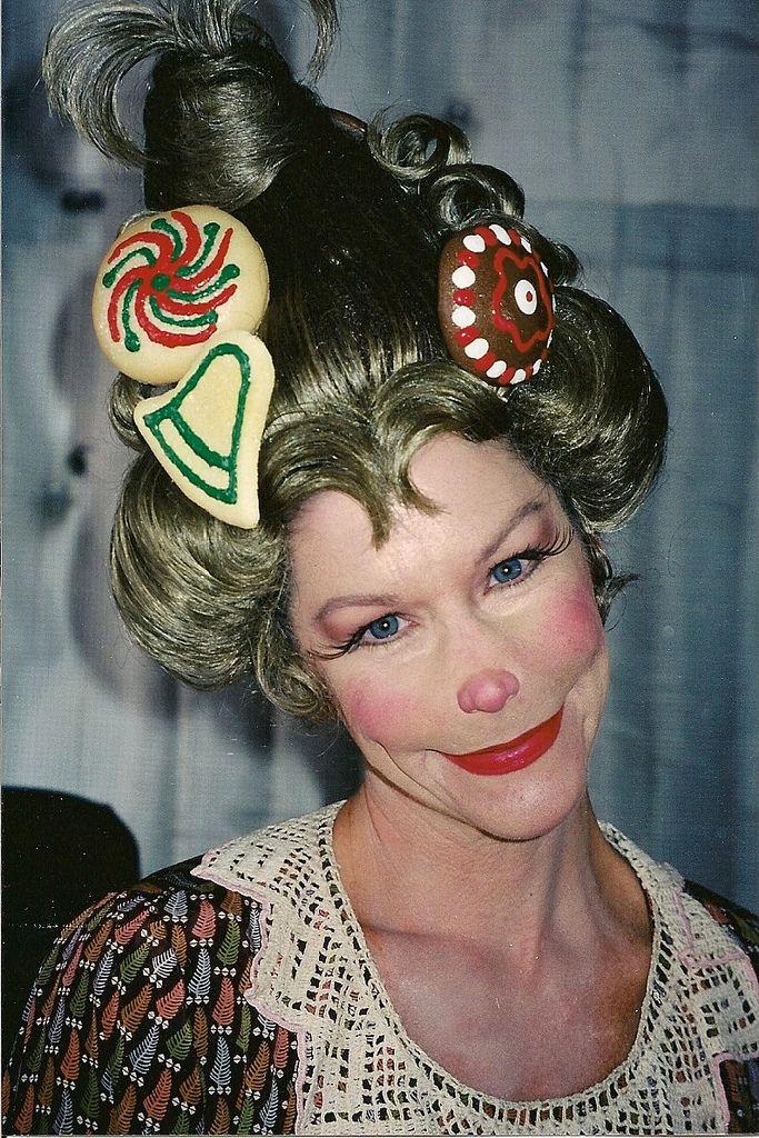 who the grinch - makeup idea