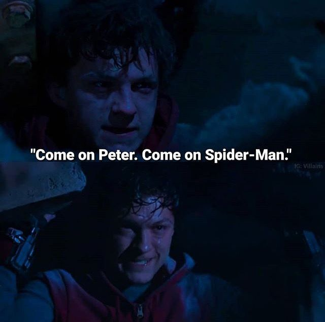 This scene was so neurotic because he wasn't SpiderMan when he got himself out of there, he was Peter. But he believed in himself so much that he did what was practically impossible. Spider Man isn't just a symbol to the public, it's a symbol to him. To make things right and save everyone, including him