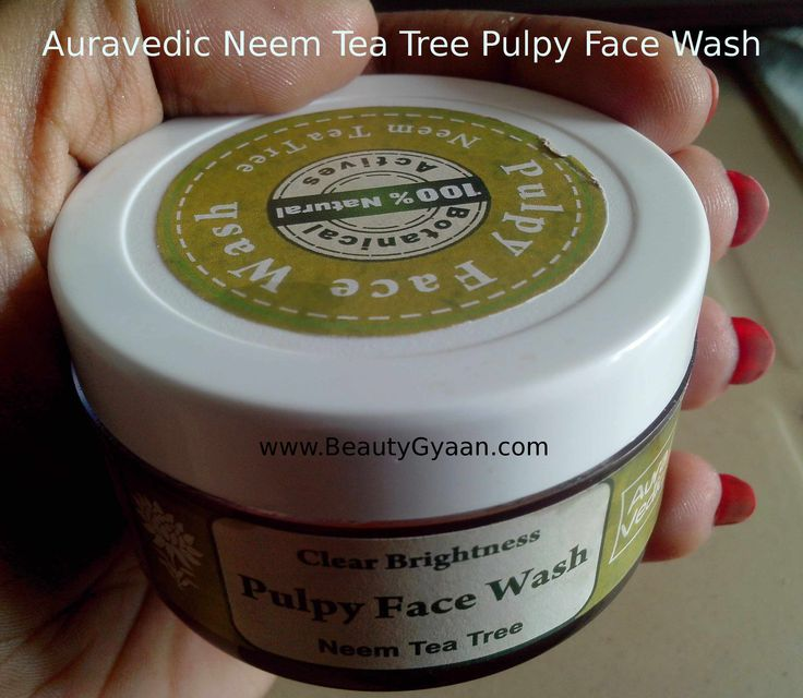 Auravedic Neem Tea Tree Pulpy Face Wash Review http://www.beautygyaan.com/index.php/auravedic-neem-tea-tree-pulpy-face-wash-review/