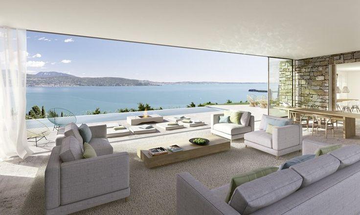 Oltre 25 idee di tendenza per giardini moderni su for Casa moderna gardone