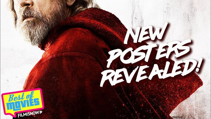 STAR WARS  The Last Jedi   New Character Posters Revealed  - YouTube-Disney has released a new set of Star Wars: The Last Jedi posters at D23. With a deep crimson palette, the posters serve up drama by giving us a peek at fiv...