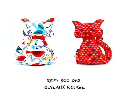 OISEAUX ROUGE Emmanuel Création
