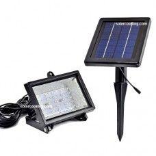 Ηλιακός Προβολέας 30 LED Ψυχρού Λευκού Χρώματος