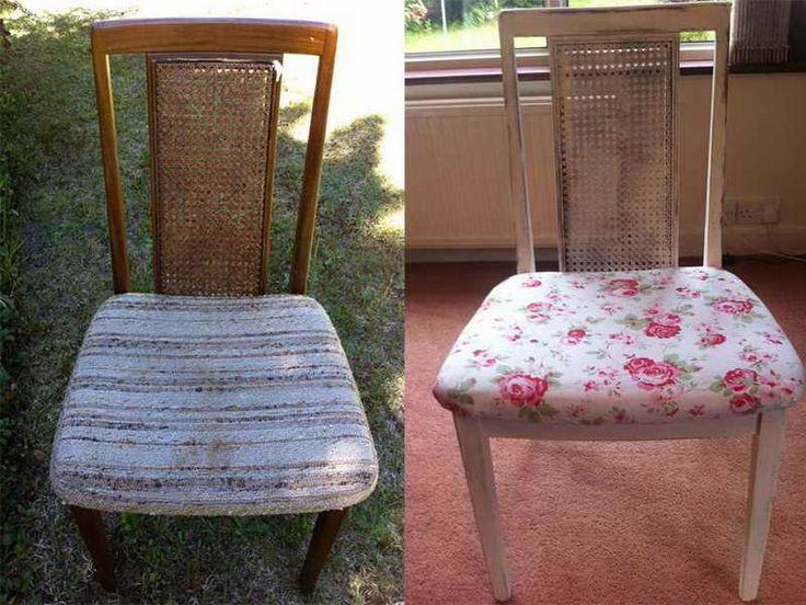 How to Reupholster a Dining Room Chair in a Convenient Manner: How To Reupholster Floral Dining Room Chair ~ gamesbadge.com Furniture Inspiration