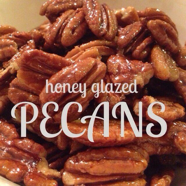 Honey+Glazed+Pecans