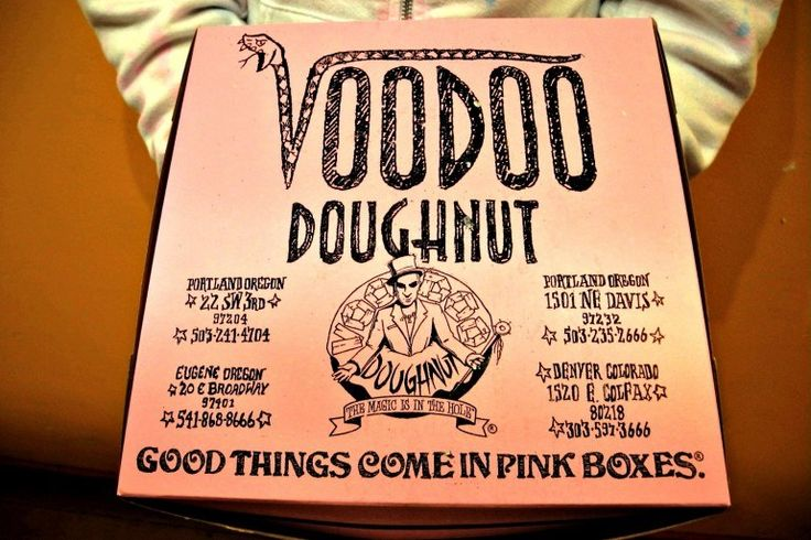Voodoo Doughnuts: Good Things Come in Pink Boxes