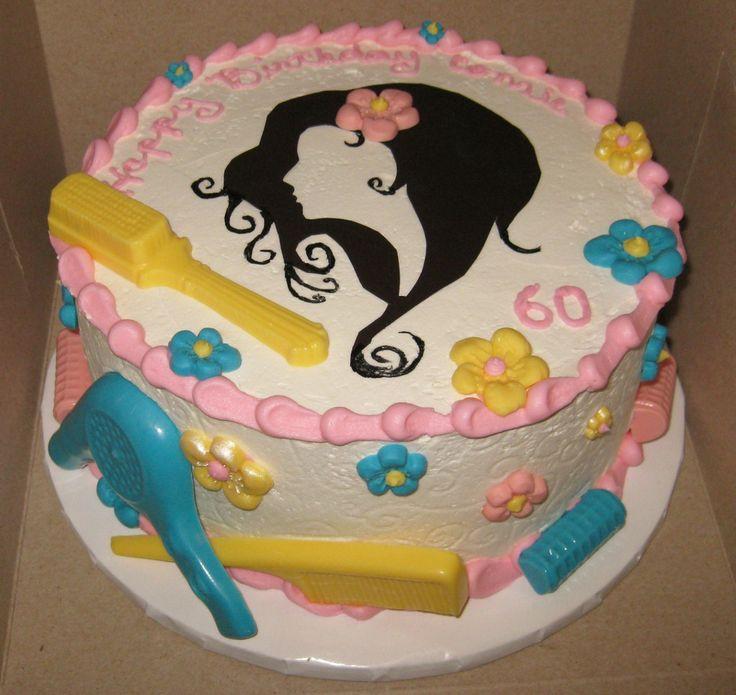 ... Salon Cake on Pinterest | Mac blush brush, Hair stylist cake and Hair