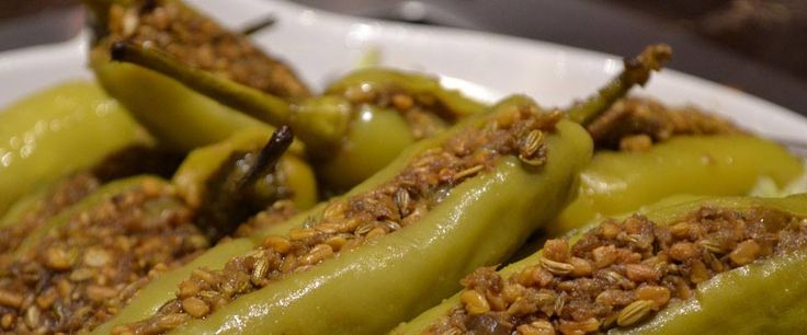 Bharwa Mirchi - stuffed green chilies is a famous side dish