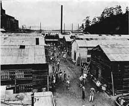 Fukuoka Prison Camp 3,-POW work days began at dawn, where they spent long hours shoveling iron ore, hauling bricks, and cleaning hot furnaces. At their prison camp, the guards beat them severely, particularly after American air raids. Men who fought back were killed.