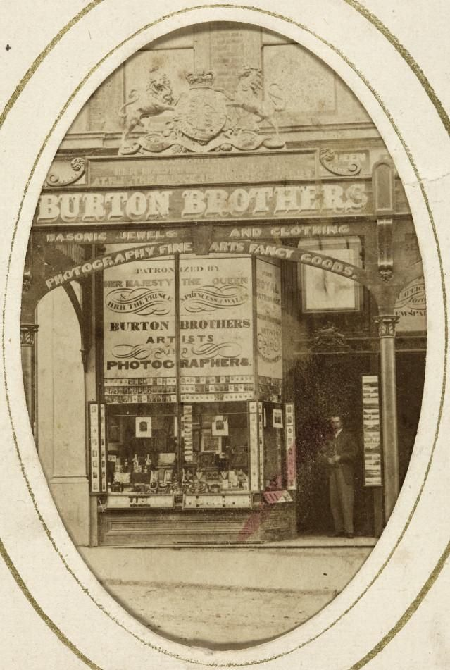 Burton Brothers Studio Dunedin, New Zealand. Early 19th century photographers.