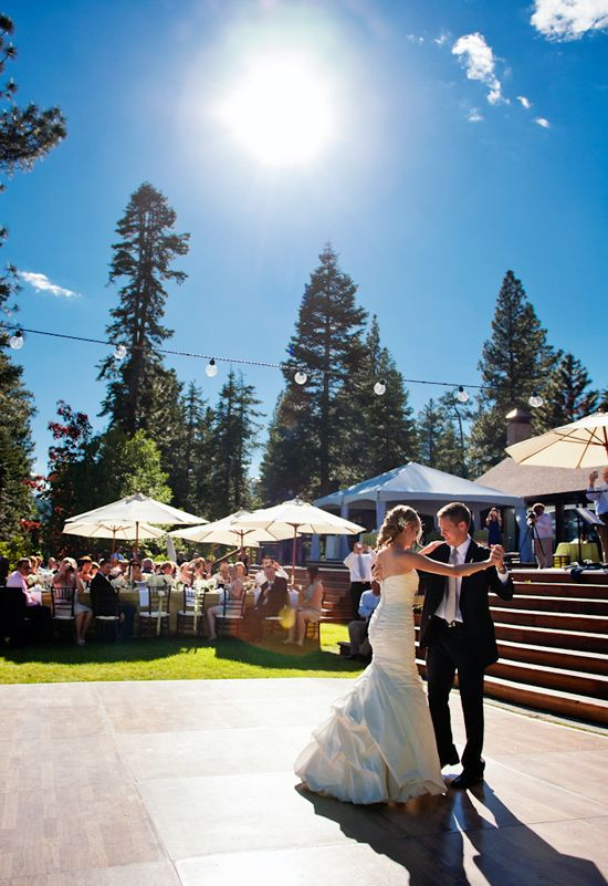 Romantic Lake Tahoe Wedding Inspiration Board