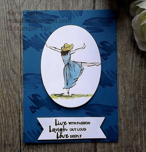 Stampin' Up! Beautiful You card