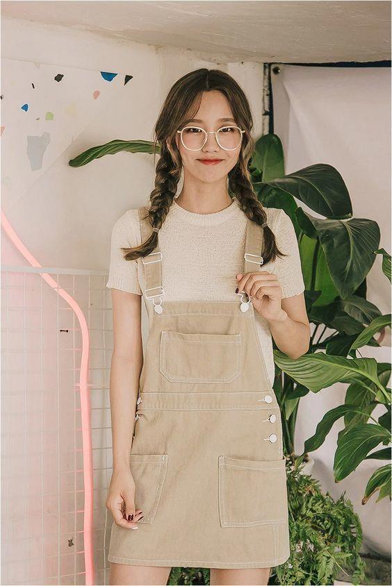 Korean Hairstyles Girls -School Hair – Get ready for 2018 #koreanfashiontrends