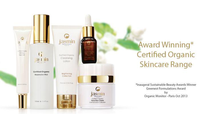 Jasmin Organics Skin care range Tamborine Mountain